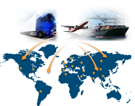 International Transportation and Logistics Then and Now